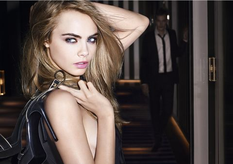 Cara Delevingne for YSL Fusion Foundation - a foundation masterclass, tips and advice - Cosmopolitan.co.uk