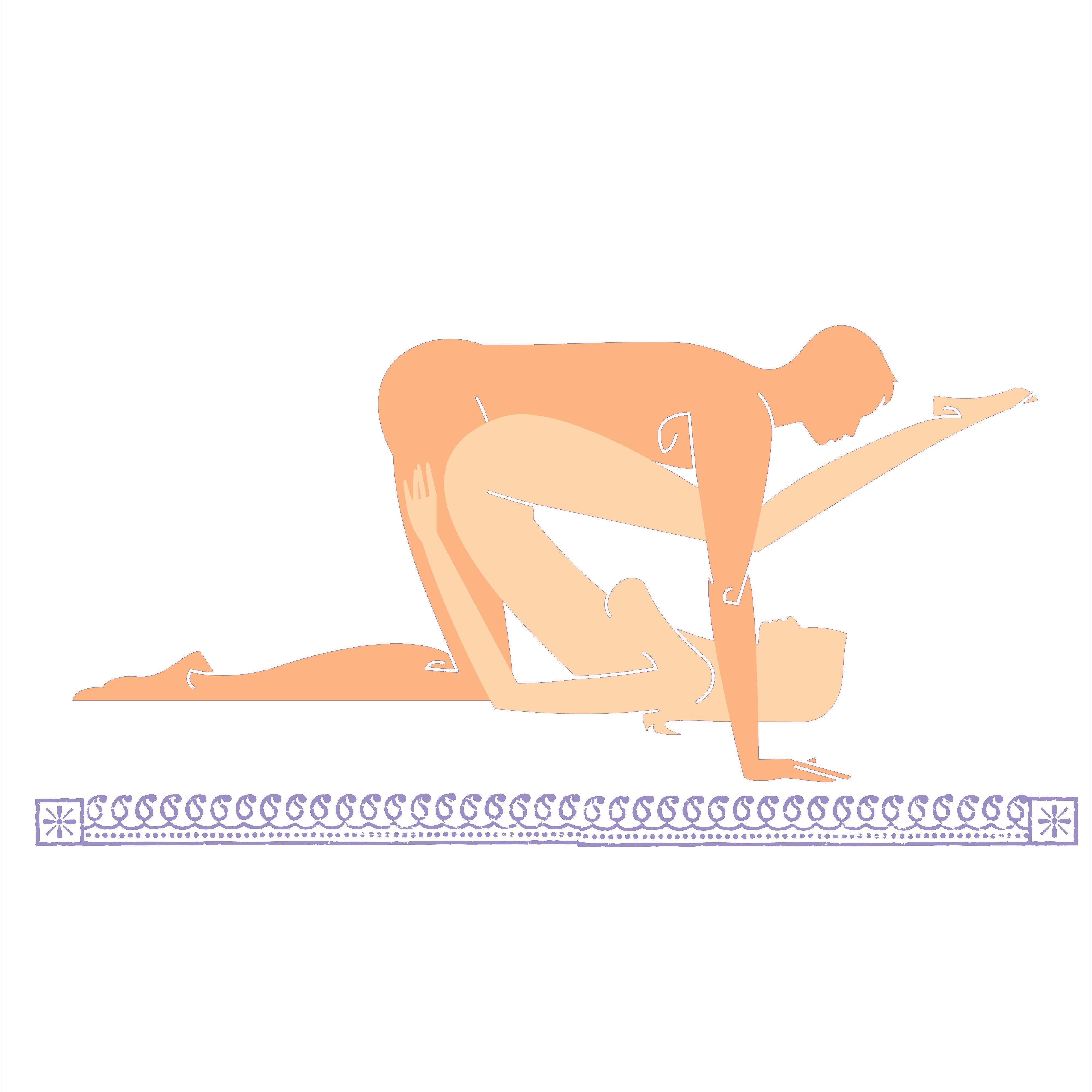 Seesaw sex position