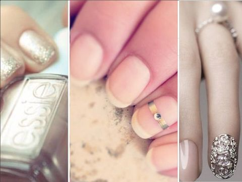 Chic Bridal Nail Art Inspiration For Your Wedding Day