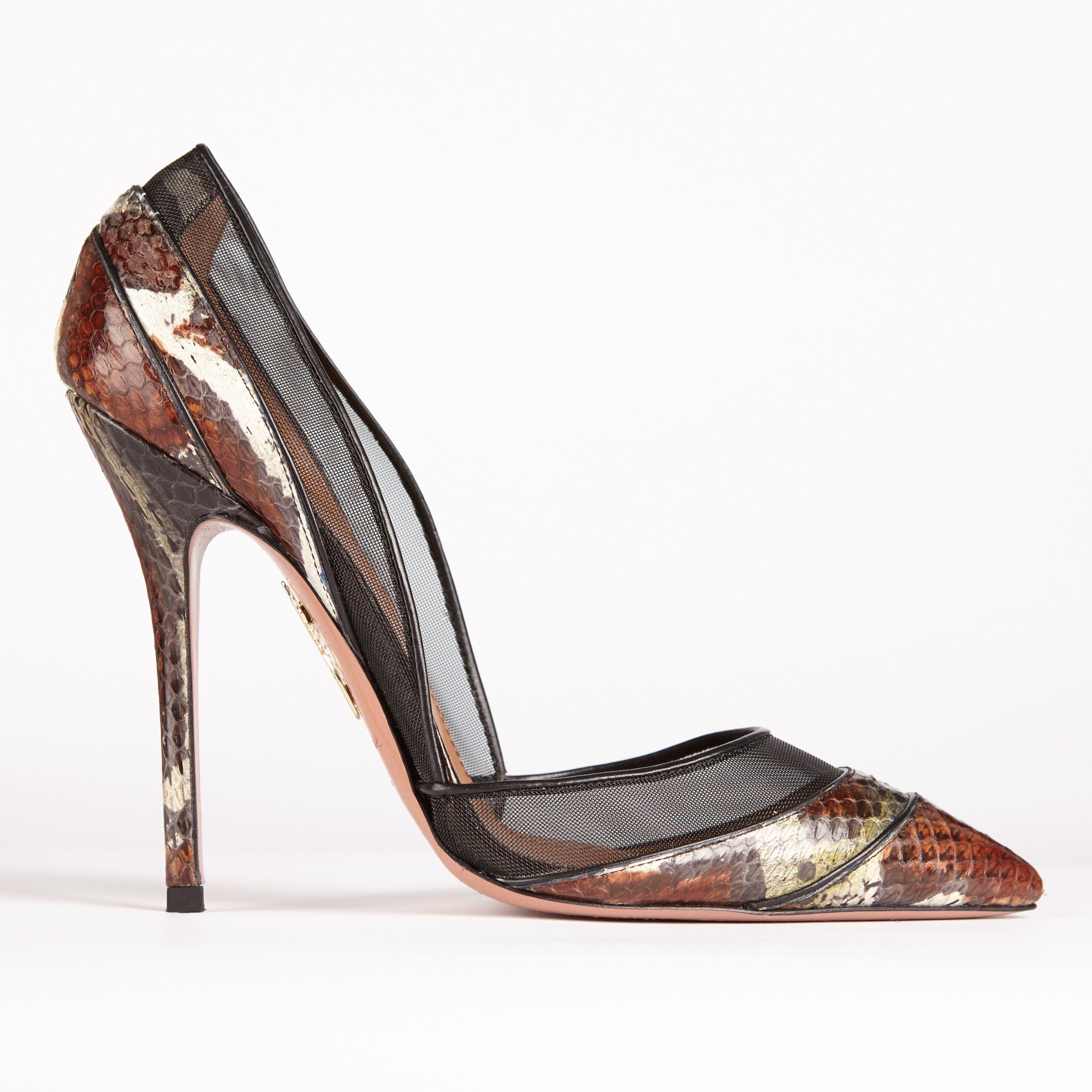 Aquazzura x Olivia Palermo shoe collection