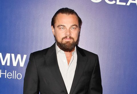 Leonardo DiCaprio beard Oceana Seachange Summer Party pictures Cosmopolitan