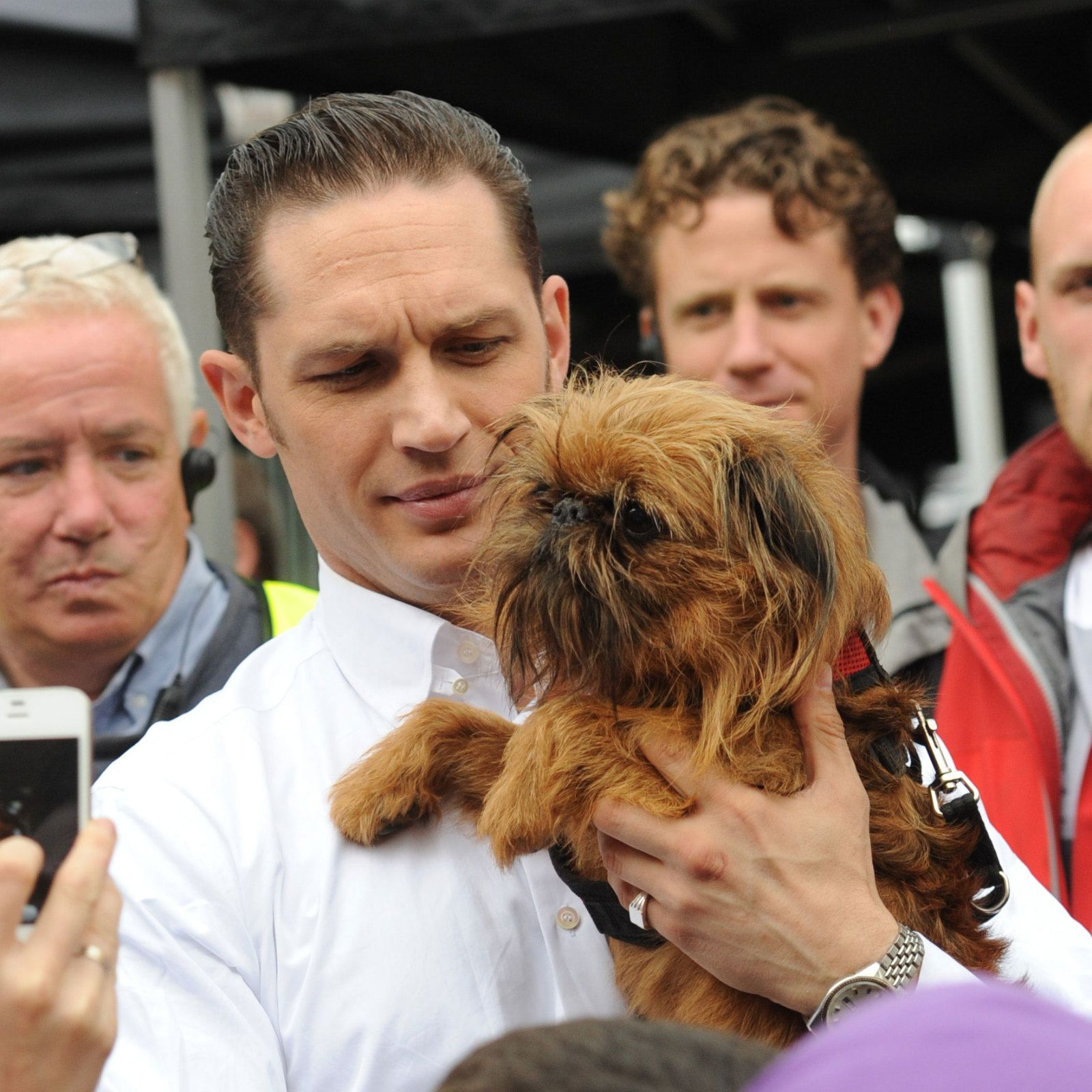Tom Hardy puppy dog pictures gallery Cosmopolitan.co.uk