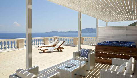 MarBella Corfu terrace