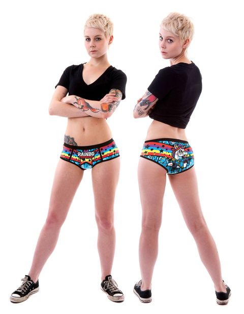 Rainbo period panties by FireBox - fashion - cosmopolitan.co.uk