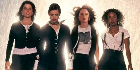 The 90s film actresses we totally crushed on - Neve Campbell & Co in The Craft. For more celeb nostalgia visit cosmopolitan.co.uk