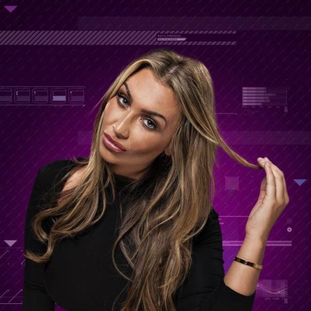 Lauren Goodger on Celebrity Big Brother