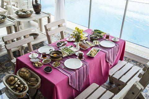 Alacati dining, Turkey