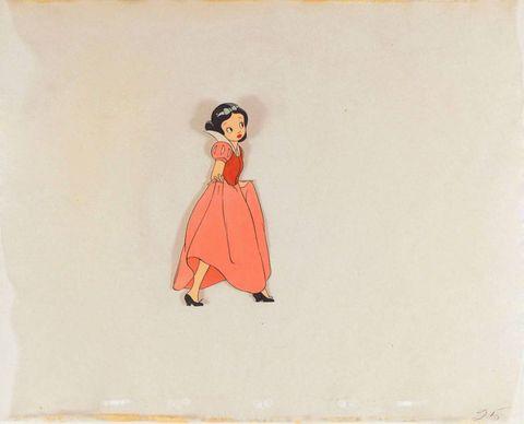 The original Snow White was deemed 'too sexy' for Walt Disney