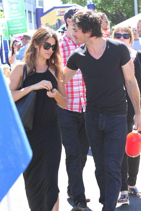 Ian Somerhalder and Nikki Read romantic celebrity couples pictures cosmopolitan.co.uk