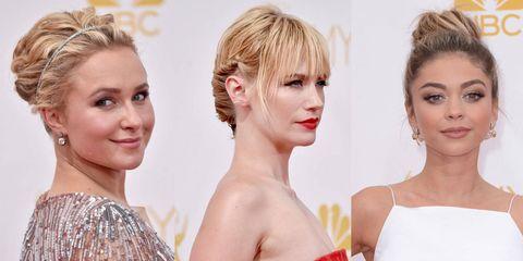 Emmy Awards 2014 hairstyles - best celebrity hair trends - Cosmopolitan.co.uk