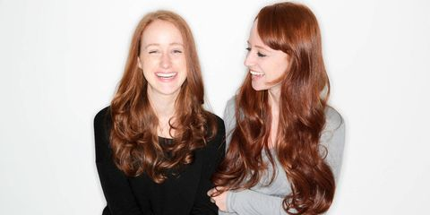 How the sisters outcast for having red hair and pale skin turned their looks into assets
