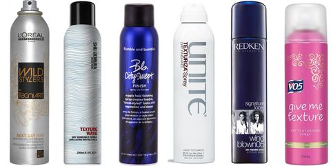 Dry texturising sprays reviewed in the Cosmo Beauty Lab