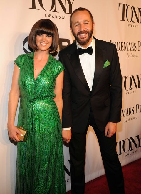 Dawn O'Porter and Chris O'Dowd arriving at the 68th Annual Tony Awards 2014
