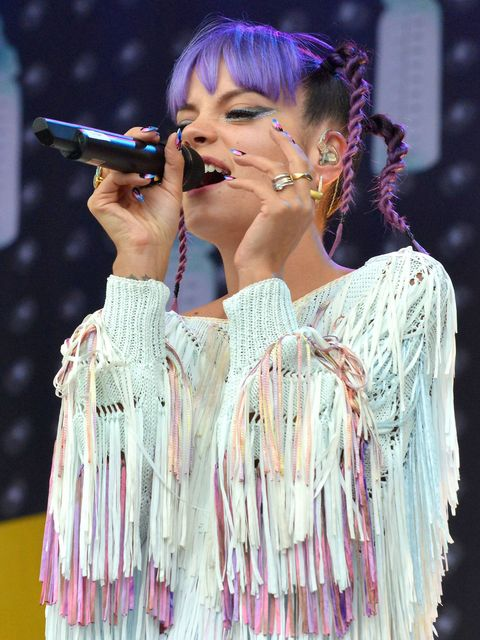 Lily Allen at Electric Picnic festival 2014