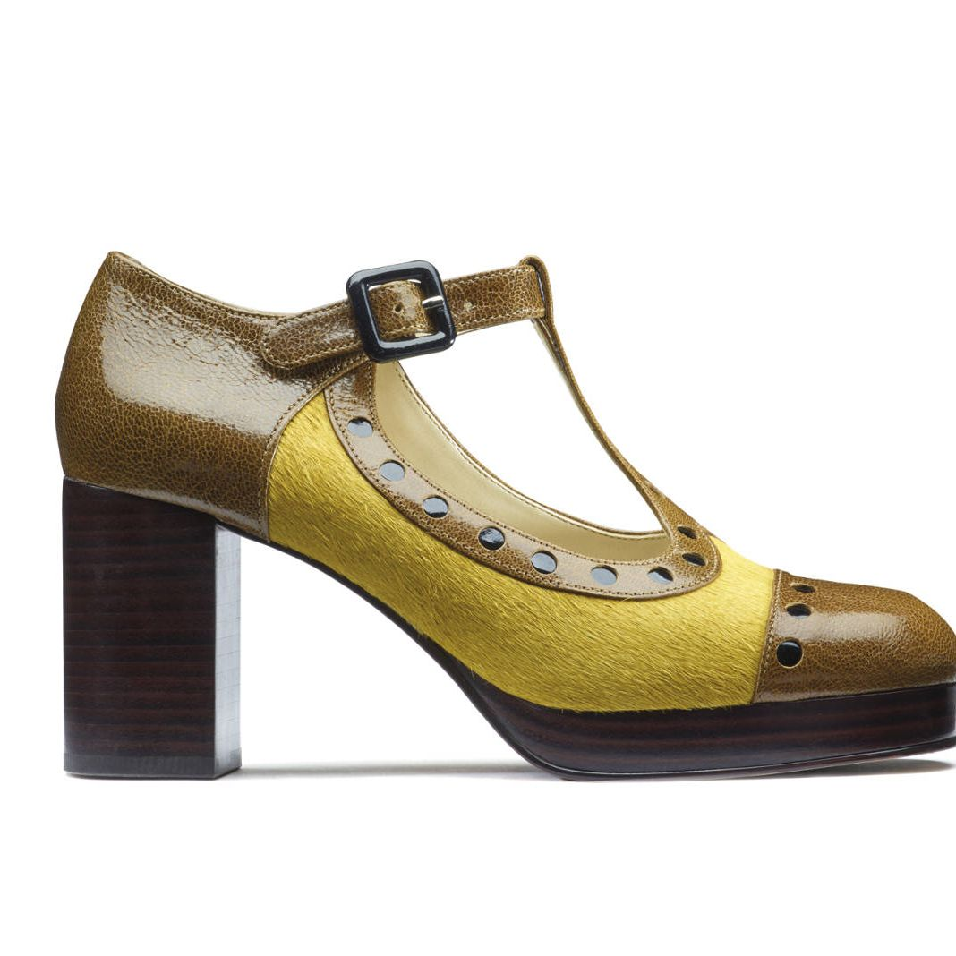 Orla Kiely x Clarks collection
