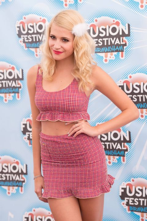 Pixie Lott at  Fusion festival - beauty inspiration - Cosmopolitan.co.uk