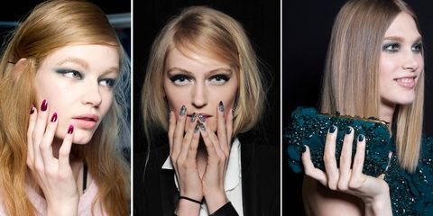Nail trends for Autumn/Winter 2014