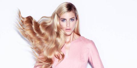 Glossy perfect hair