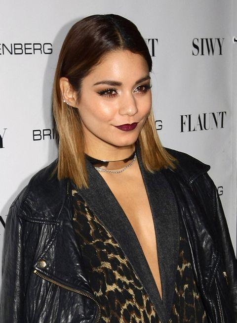 Vanessa Hudgens's grunge makeup - Flaunt magazine party
