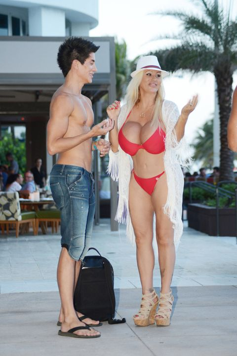 Human Ken Justin Jedlica and Human Barbie Lacey Wildd have been hanging out