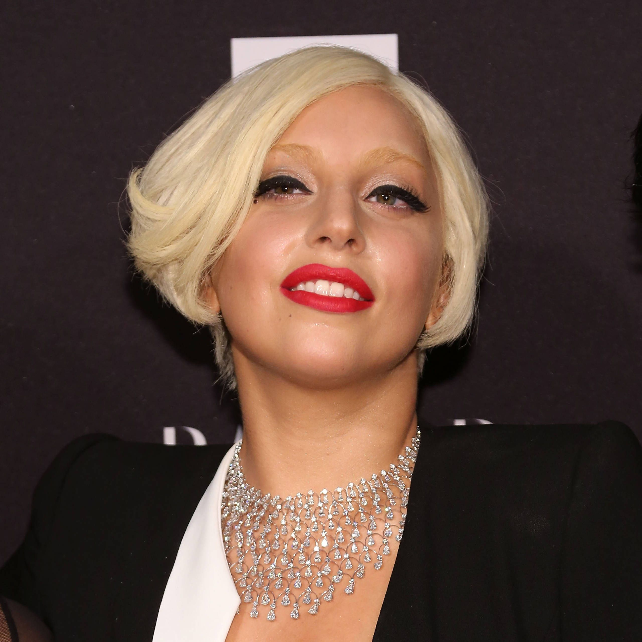 Lady Gaga at  the ICONS event thrown by the worldwide editors of Harper's BAZAAR, presented by Infor and Samsung Galaxy.