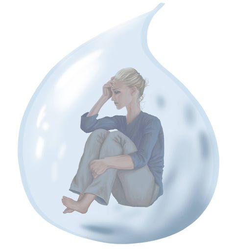 Sad girl - what happens when your boyfriend dies