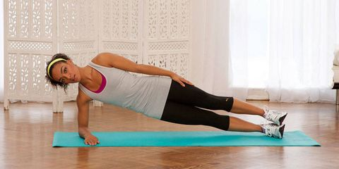 How to work out in the living room with nothing but a mat