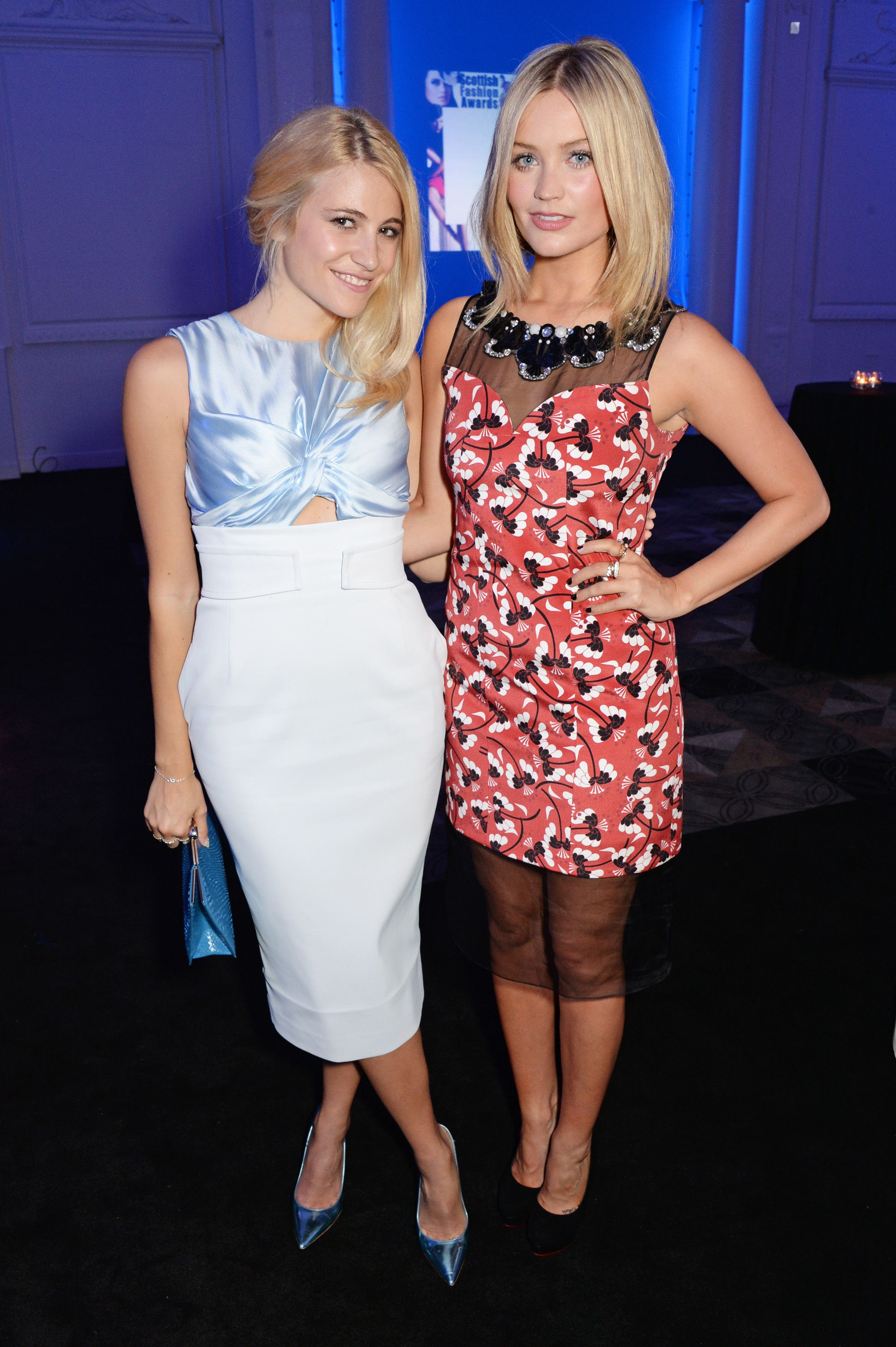 Amy Macdonald Topless laura whitmore and pixie lott look lovely at the 2014