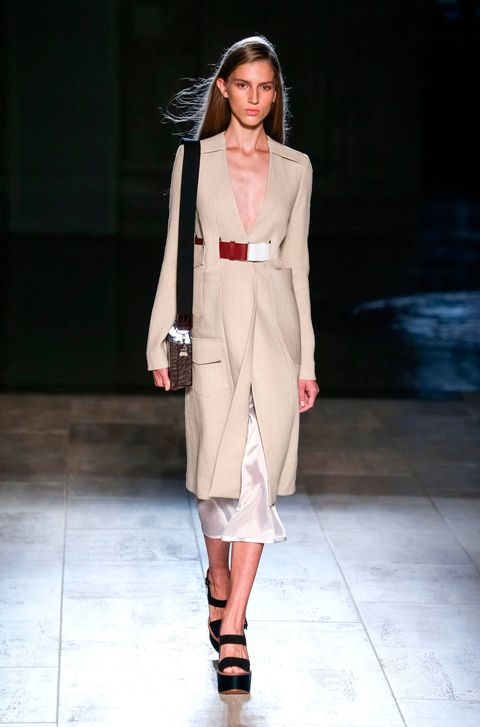 Victoria Beckham SS15 collection at New York Fashion Week