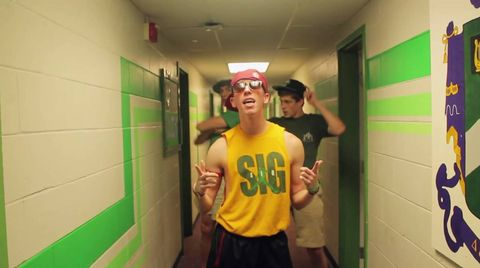 US Fraternity nails this lip-sync version of Taylor Swift's 'Shake It Off'