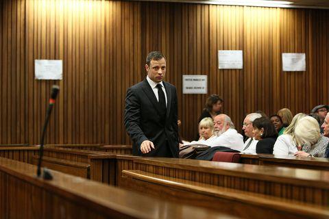 Oscar Pistorius in court, September 2014