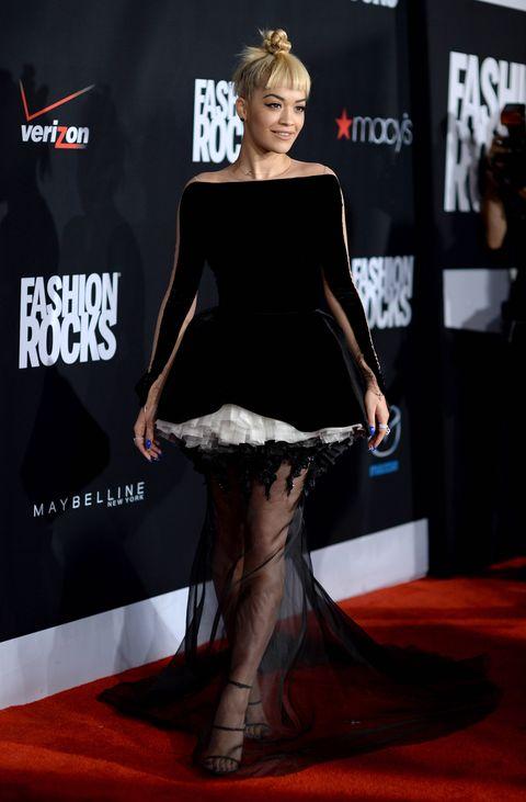 Rita Ora at Fashion Rocks 2014