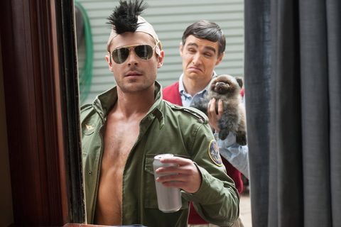 Watch Zac Efron and Dave Franco in hilarious Bad Neighbours blooper