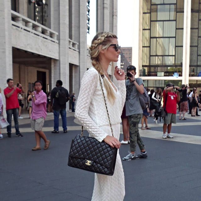 Street style at New York Fashion Week SS15