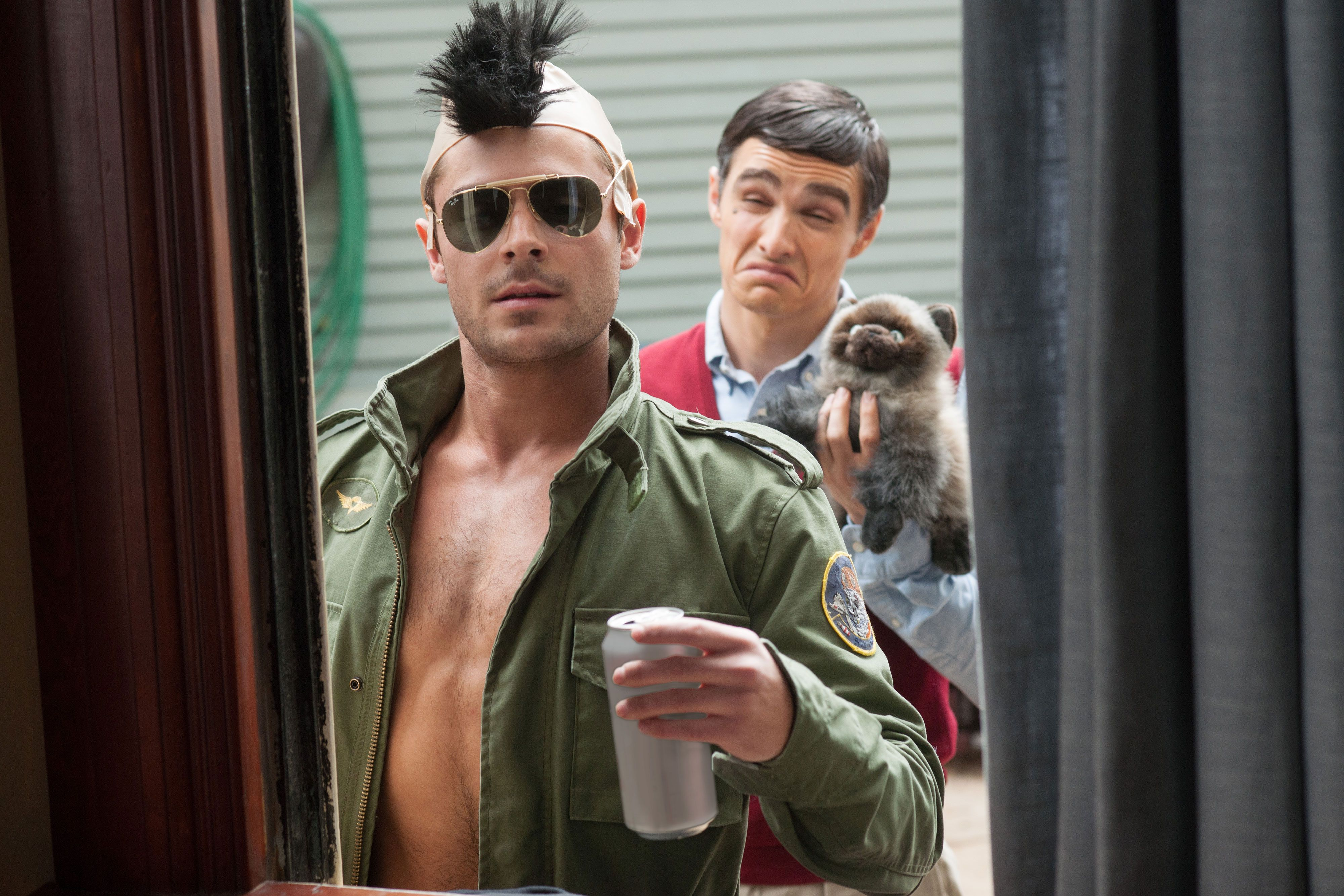 Video zac efron and dave francos bad neighbours blooper is hilarious m4hsunfo