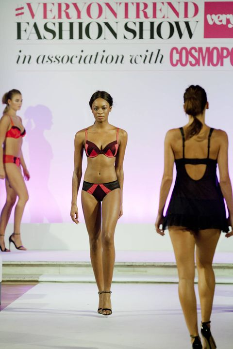 Lingerie looks from the #VeryOnTrend catwalk show with Cosmopolitan