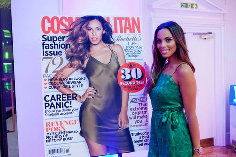Rochelle Humes at Cosmopolitan's Very catwalk show at FashFest