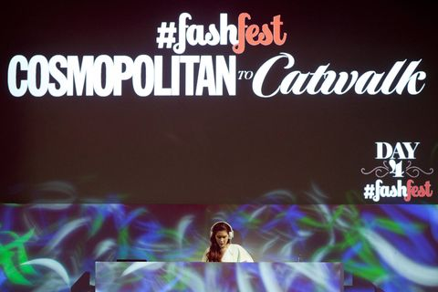 Cosmopolitan FashFest show, Catwalk to Cosmopolitan