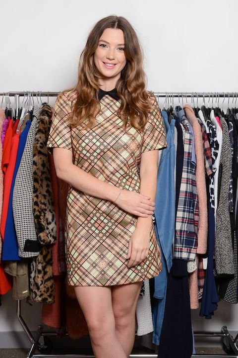 Checks and collars will be everywhere for autumn 2014, so stay one step ahead in a cute mini like this.