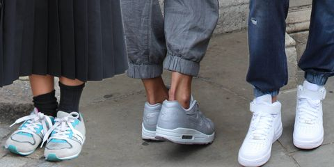 Street style sessions: how to wear trainers