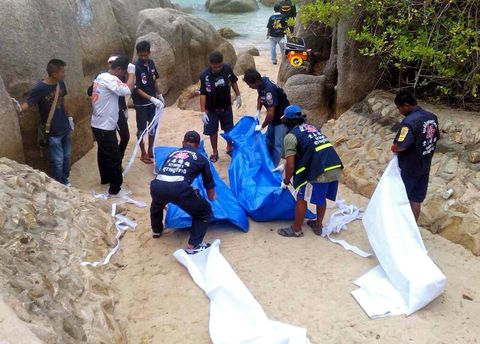 23 year old British woman found raped and murdered on Thai beach