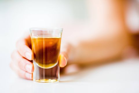 shot alcohol drink