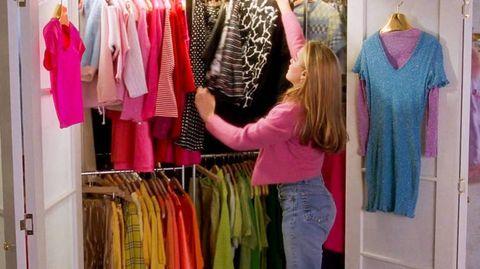 Cher's wardrobe in Clueless
