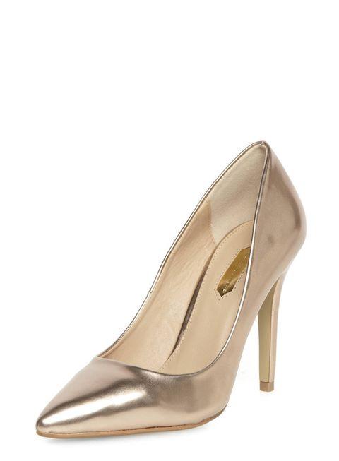 Brown, Tan, Beige, Khaki, Fawn, High heels, Fashion design, Basic pump, Silver, Leather,