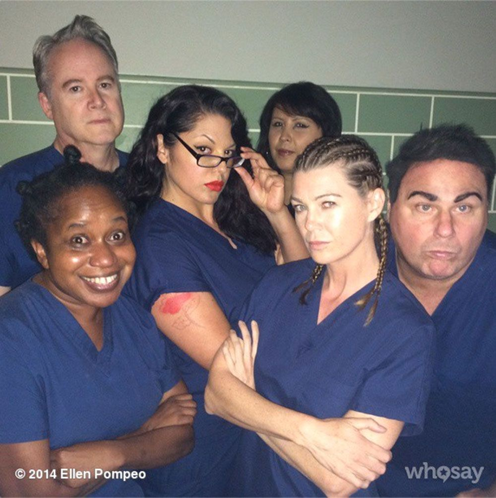 Grey\'s Anatomy cast do OITNB for a spoof picture and it is BRILLIANT