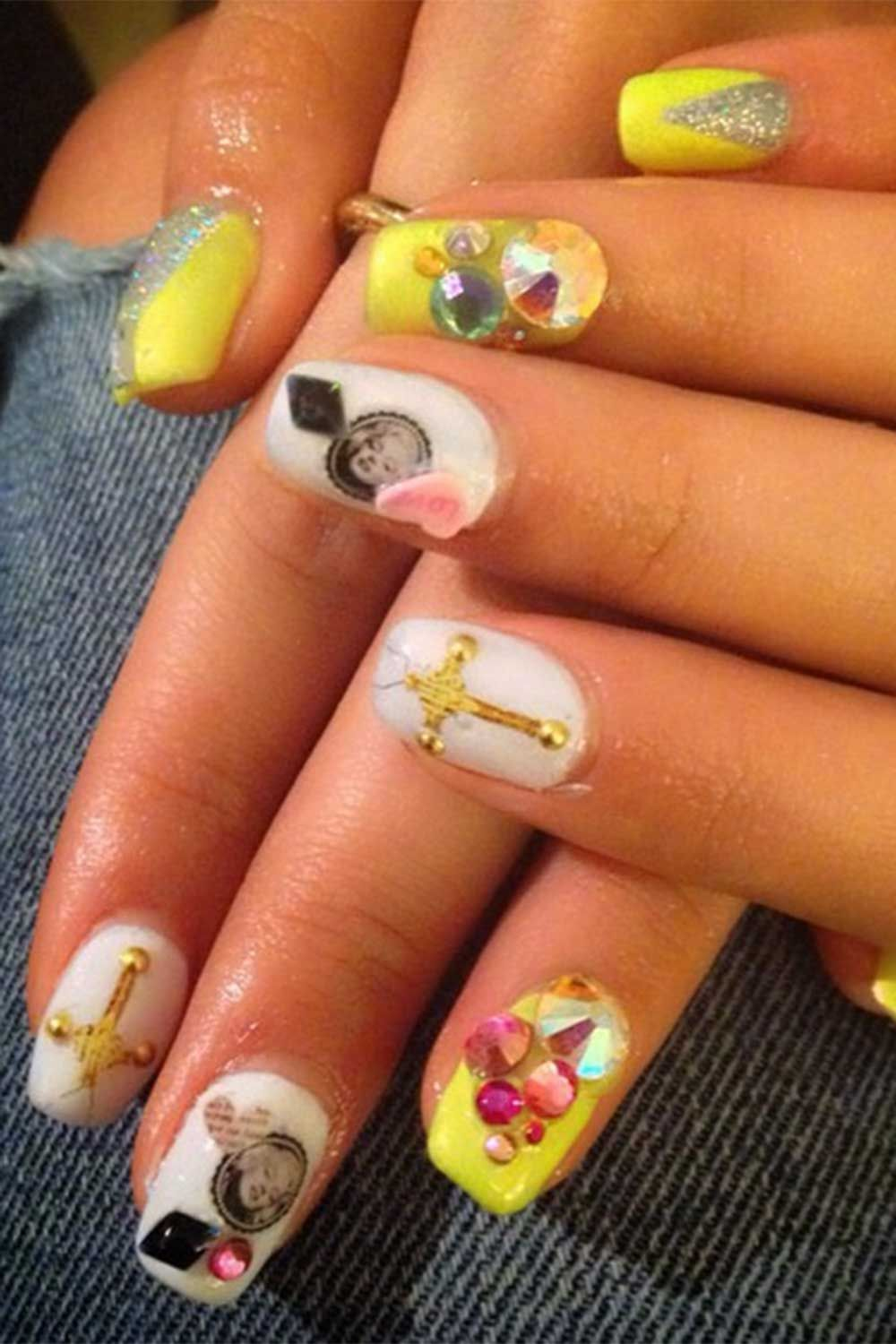 103 celebrity nail art designs to give you ALL the inspo...