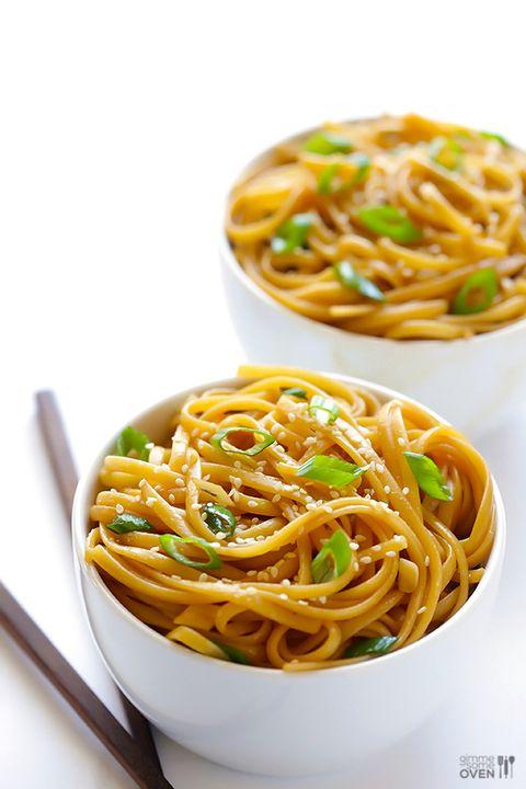 Food, Cuisine, Noodle, Spaghetti, Chinese noodles, Ingredient, Dish, Pasta, Al dente, Recipe,
