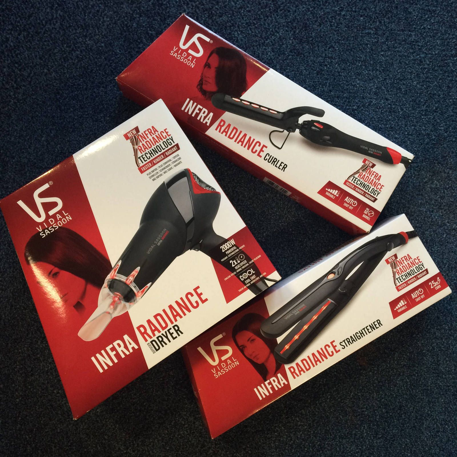 Vidal Sassoon Infra Radiance collection review
