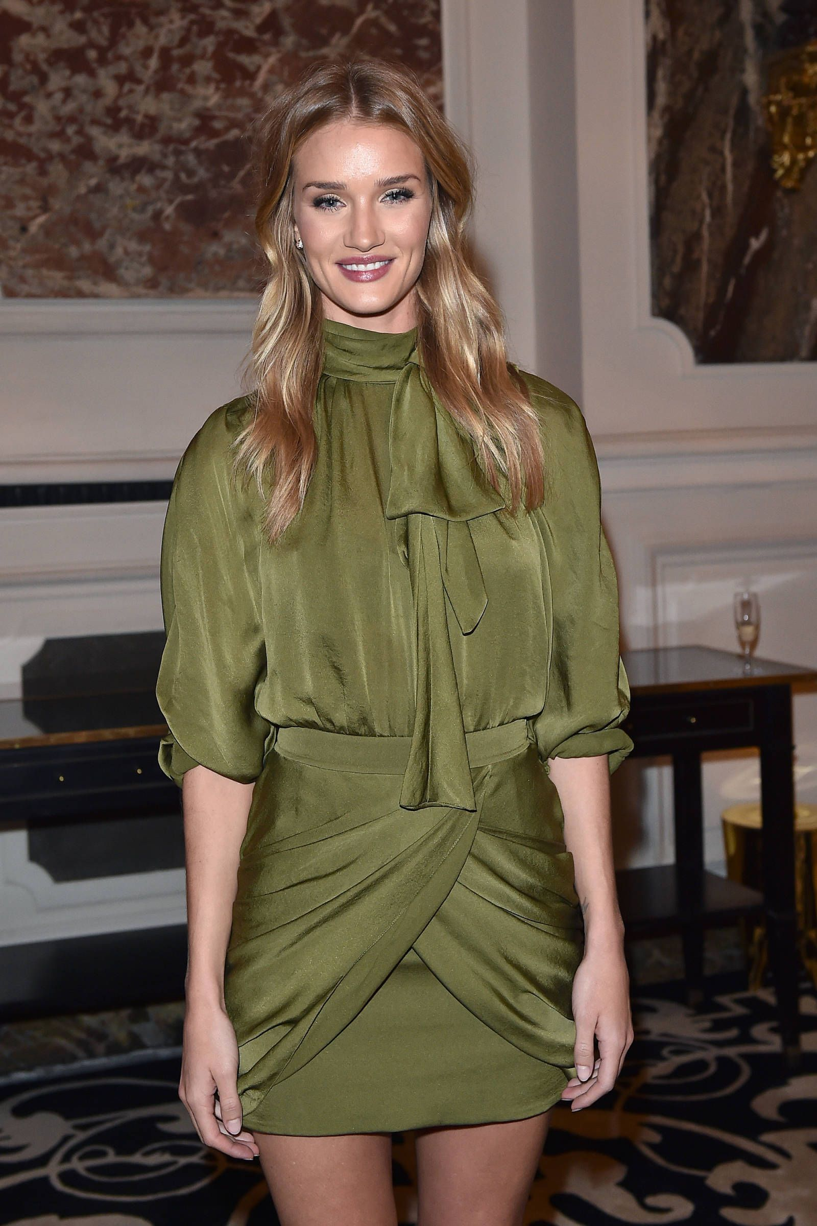 Rosie Huntington-Whiteley at PFW SS15