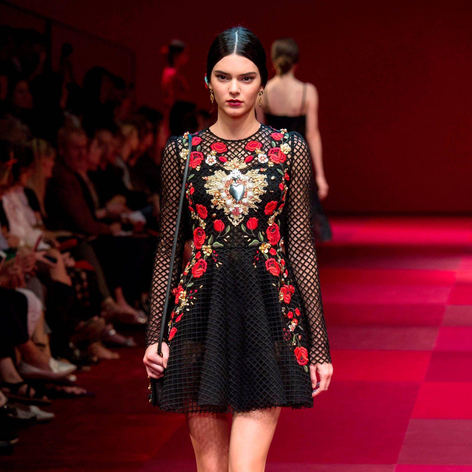 Dolce & Gabbana Spring 2015 at Milan Fashion Week